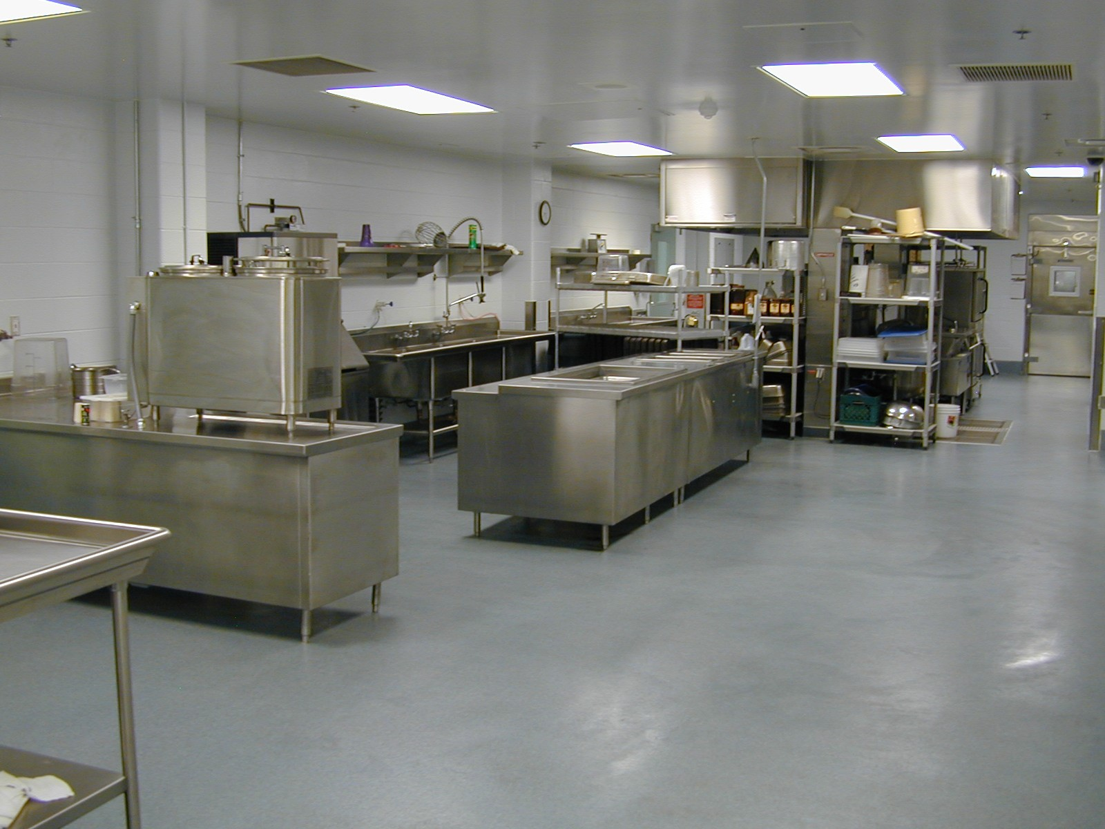 Detention Center Kitchen