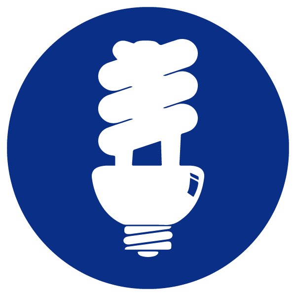blue heading icons_fluorescent bulb