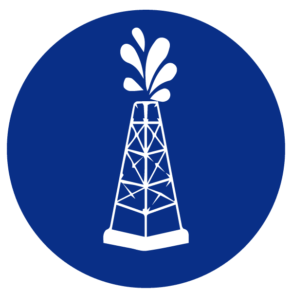 blue heading icons_oiltower