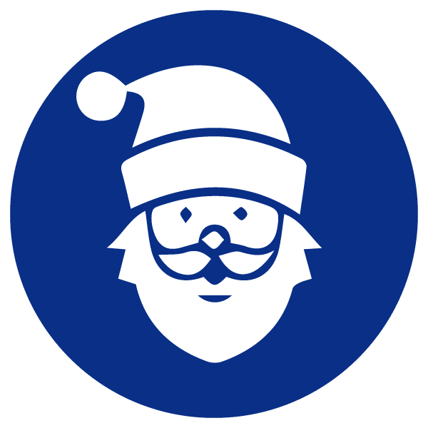 blue heading icons_santa