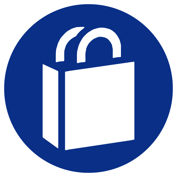 blue heading icons_shopping bag