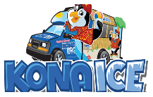 Kona Ice Logo and website link