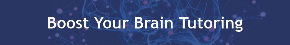 Boost Your Brain Tutoring Header Image
