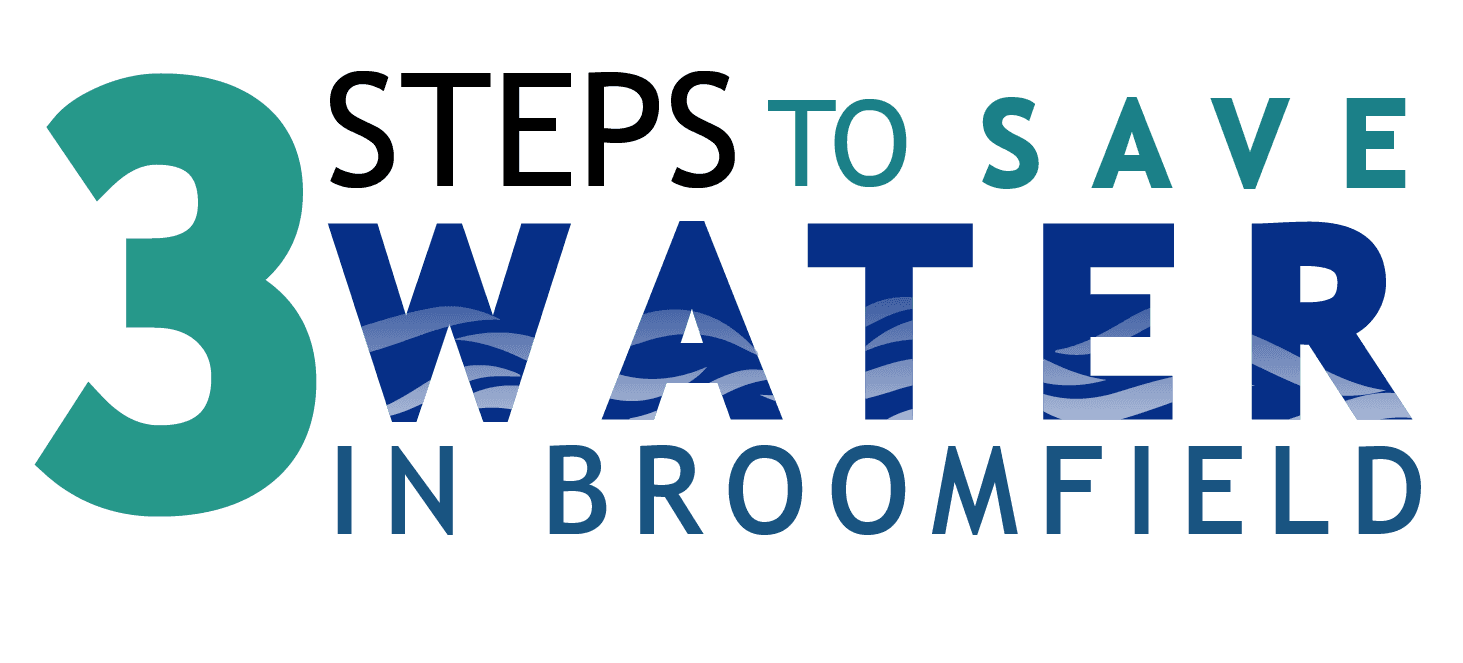 3 steps to save water graphic title