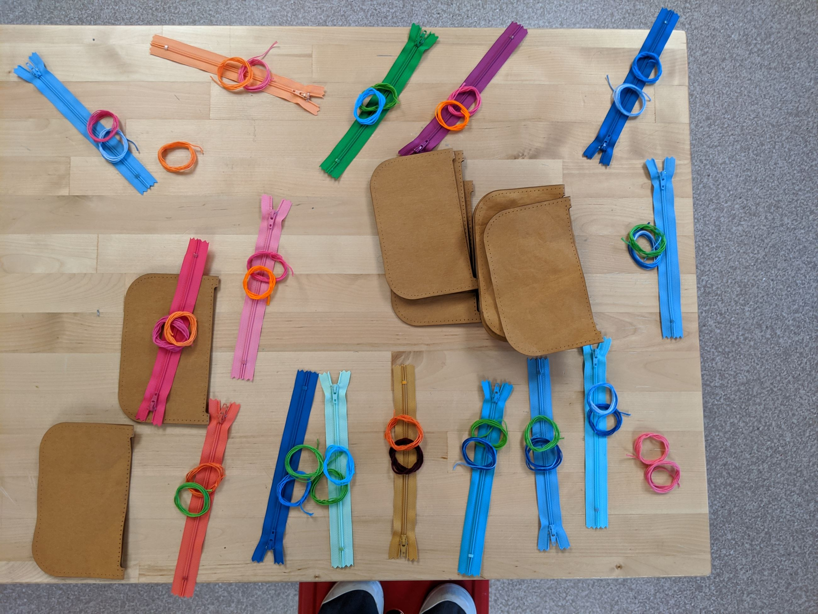 Take-and-make kits available at the Children's Desk