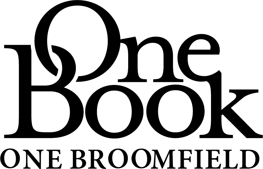 One Book One Broomfield Logo Black