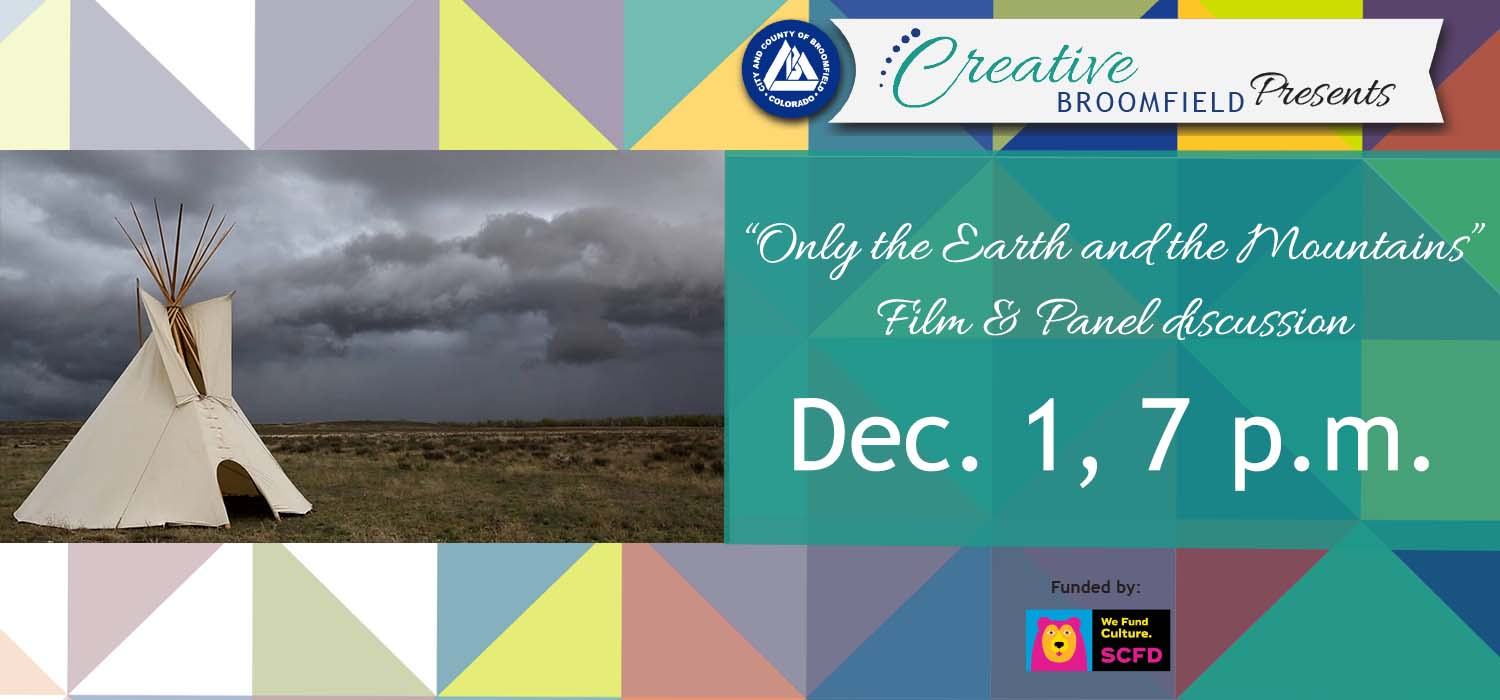 Only the earth and the Mountains Carousel banner