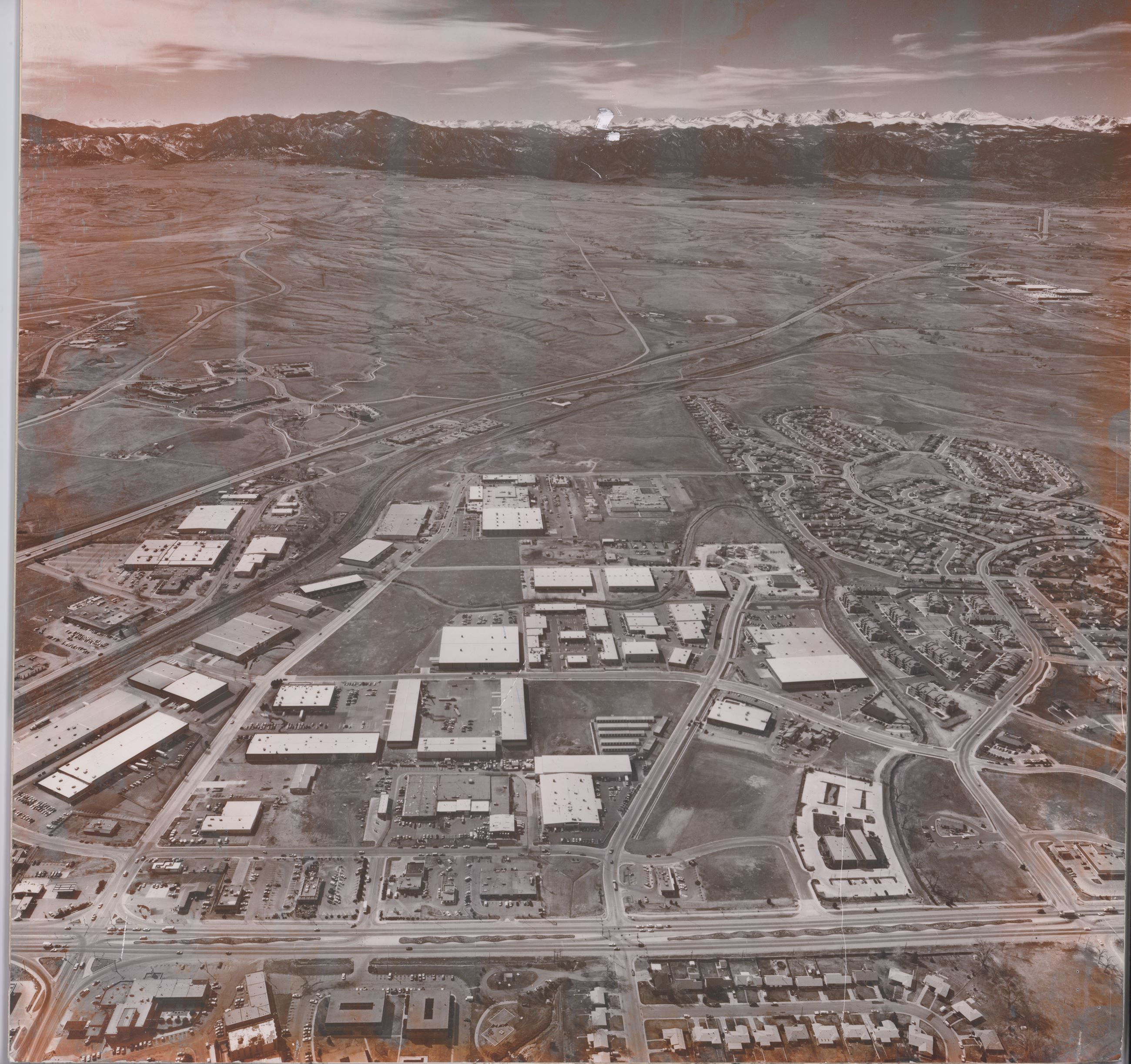 Aerial photo of Broomfield - unknown year Opens in new window